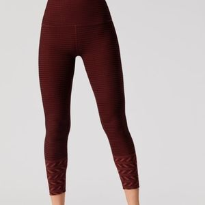 Beyond Yoga Desert Border High Waist Midi Leggings